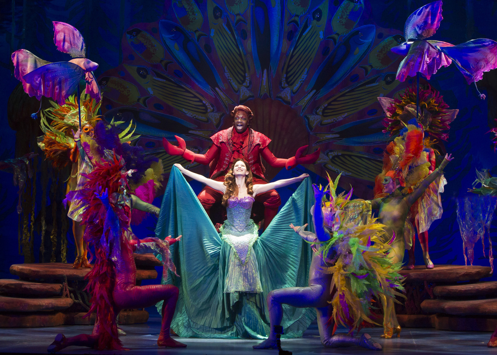 Resultado de imagen para the little mermaid broadway