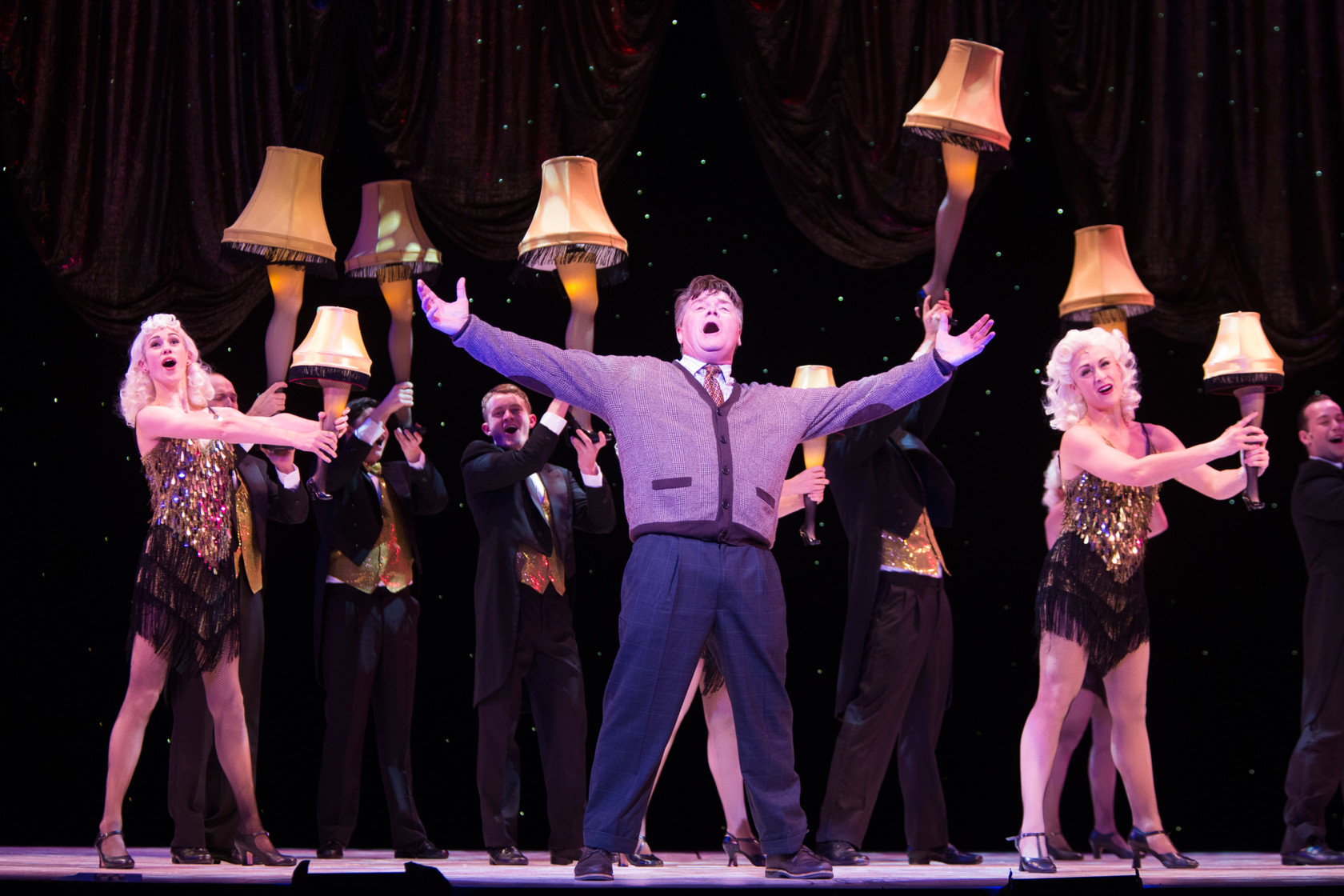 A Christmas Story Musical.Tuts A Christmas Story The Musical