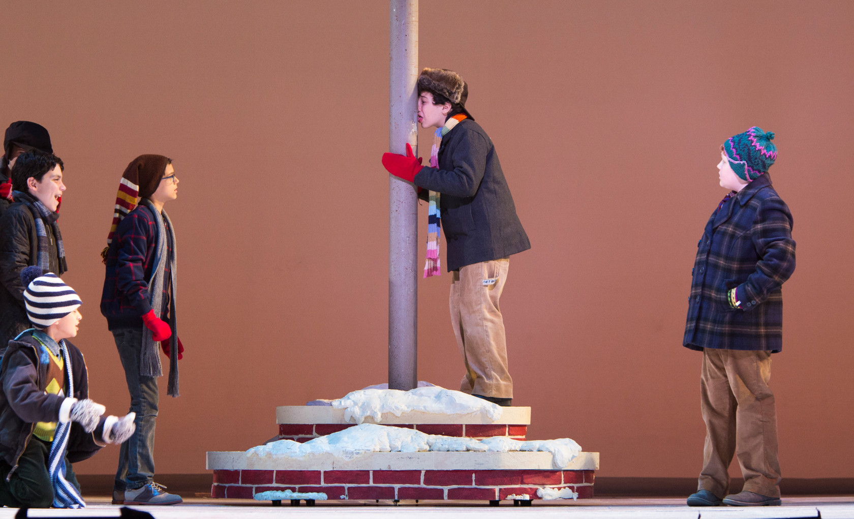 A Christmas Story The Musical.Tuts A Christmas Story The Musical
