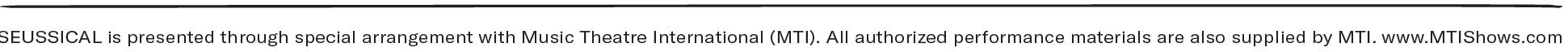 Seussical MTI