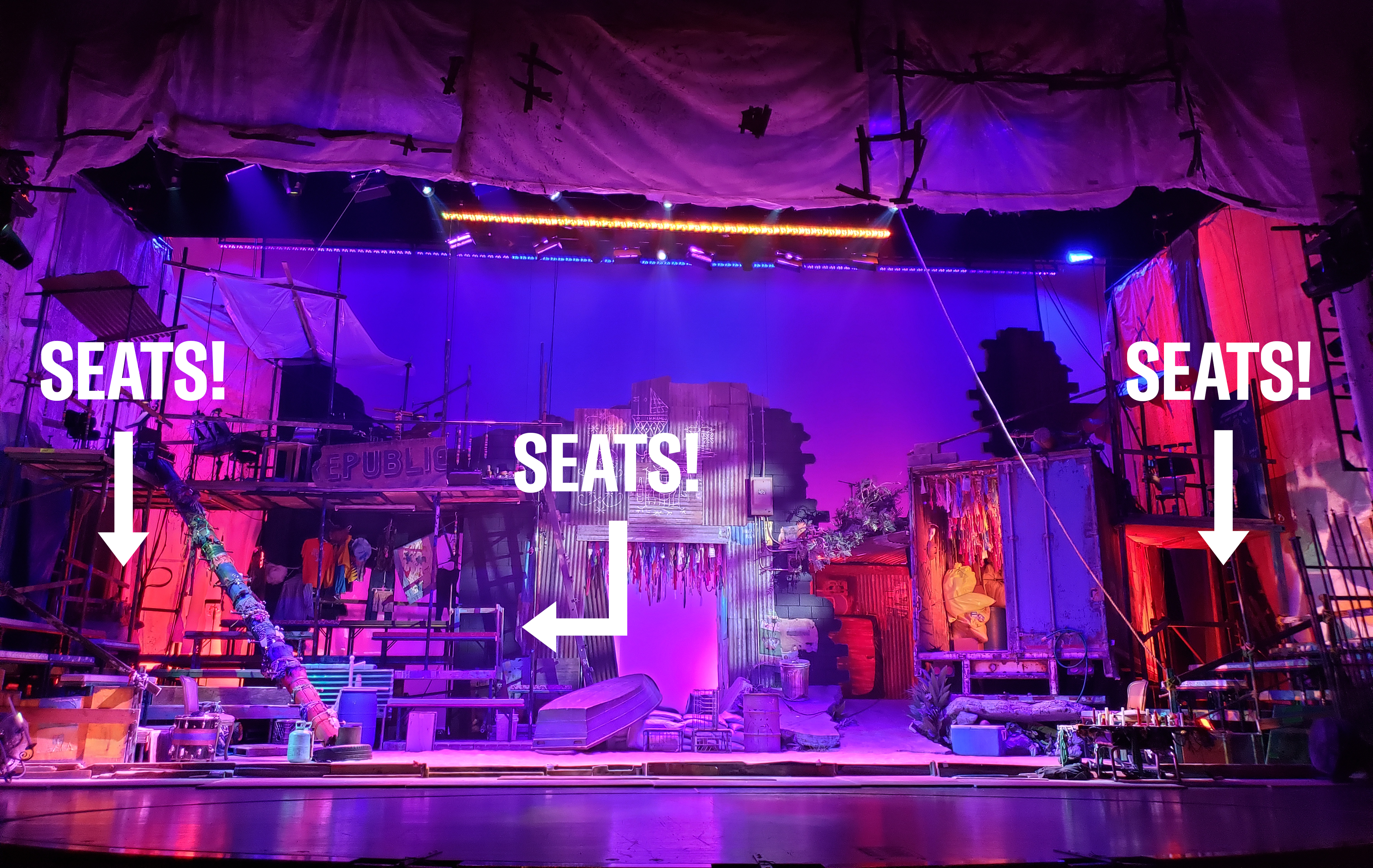 <b>Once On This Island - Onstage Seating</b>